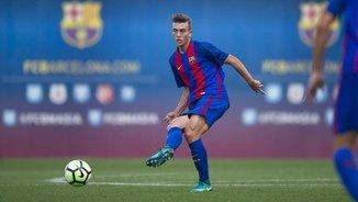 Oriol Busquets, el migcentre de futur del Barça
