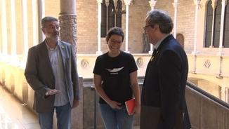 La CUP adverteix Torra que l'1-O no sigui moneda de canvi amb el govern espanyol