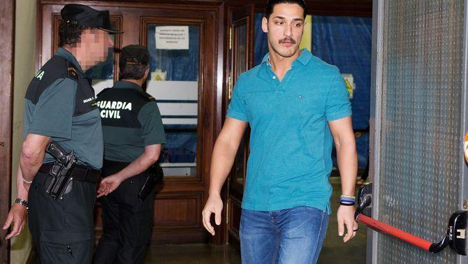 Els condemnats de La Manada, per primer cop al jutjat després de quedar en llibertat