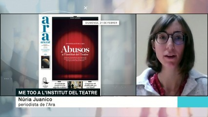 Me Too a l'Institut del Teatre