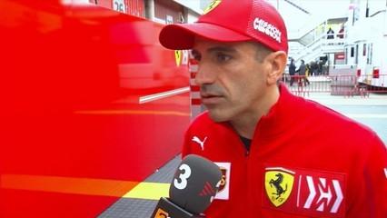 Charles Leclerc agafa el relleu de Vettel amb el seu Ferrari al Circuit de Barcelona-Catalunya