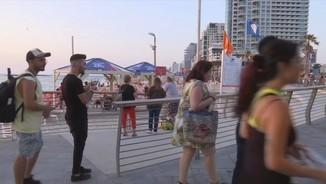 Eurovisió en marxa: fora, seguretat; dins festa.