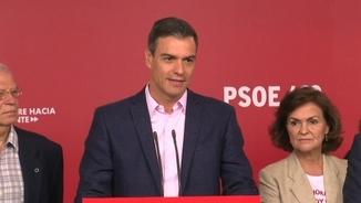 """Sánchez: """"Apel·lo a la responsabilitat dels líders per apartar la ultradreta de tots els governs"""""""