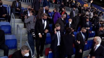Laporta, a punt per tornar a Madrid