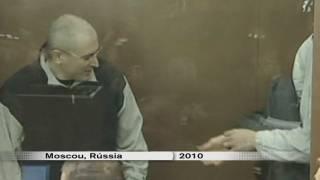 Khodorkovski surt en llibertat