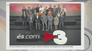 Qui falta a la foto de temporada de TV3?