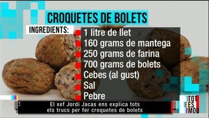Fem croquetes de bolets amb Jordi Jacas