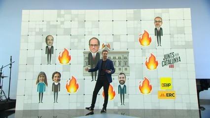Els incendis del president Quim Torra