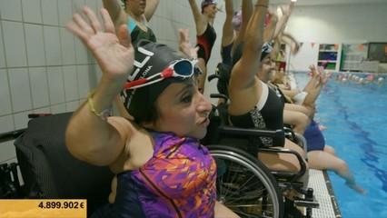 La Marató: Elisenda Caraballo, membre d'un equip de sincro molt especial