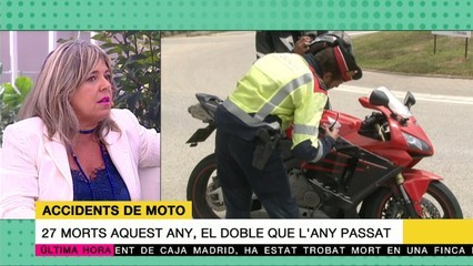 Campanya per prevenir accidents de motos