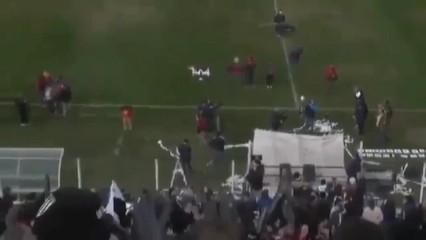 La punteria d'un seguidor argentí amb un dron