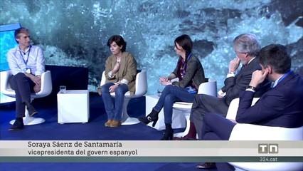 """Sáenz de Santamaría diu que les rondes de Torrent semblen capítols de """"Verano azul"""""""