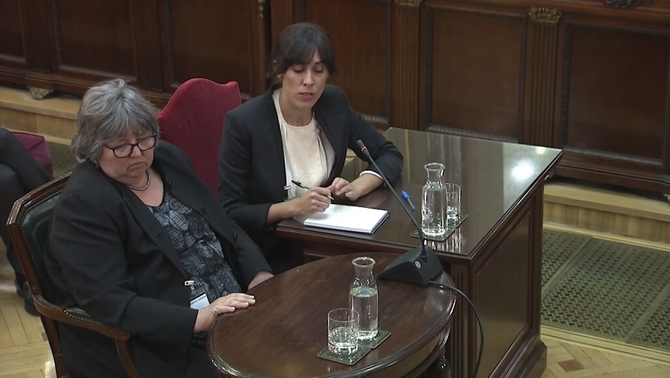 """Helena Catt denies that the task she did for Diplocat was """"electoral observation"""""""