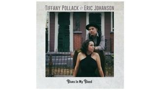 Tiffany Pollack i Eric Johanson i Louisiana Red & The City Blues Connection