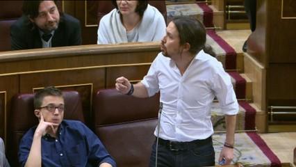 """Enfrontament entre socialistes i Pablo Iglesias per l'acusació que Felipe González va ser l'artífex de la """"calç viva"""""""