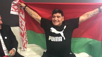 La penúltima aventura de Maradona