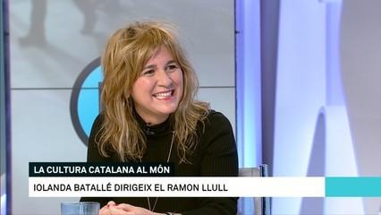 """Iolanda Batallé: """"L'Institut Ramon Llull és un prescriptor de la cultura catalana al món"""""""