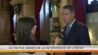 """Xavier García Albiol demana que la votació sigui secreta: """"Creiem que no hi ha unanimitat dins de JxSí"""""""