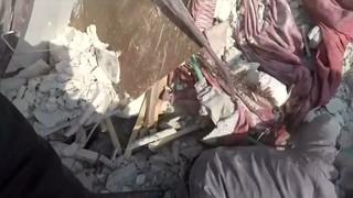 Ghouta: l'exèrcit sirià i l'aviació russa bombardegen la població