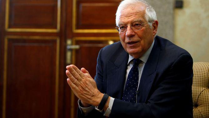 """Borrell afirma que va tenir """"prou paciència"""" en l'entrevista a la televisió alemanya"""