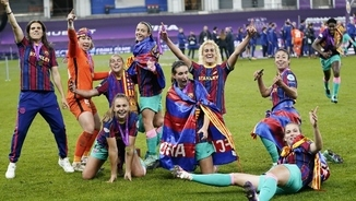 Barça Femení and women's football - treble success and fight for fairness