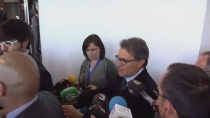 Rajoy a Barcelona evita trobar-se amb Mas