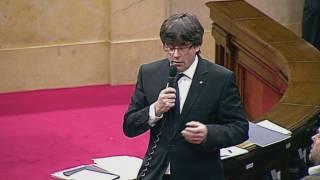 Puigdemont: La fi de la tercera via
