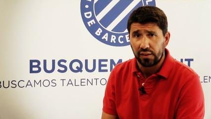 Ángel Gómez valora el fitxatge de Quique Sánchez Flores
