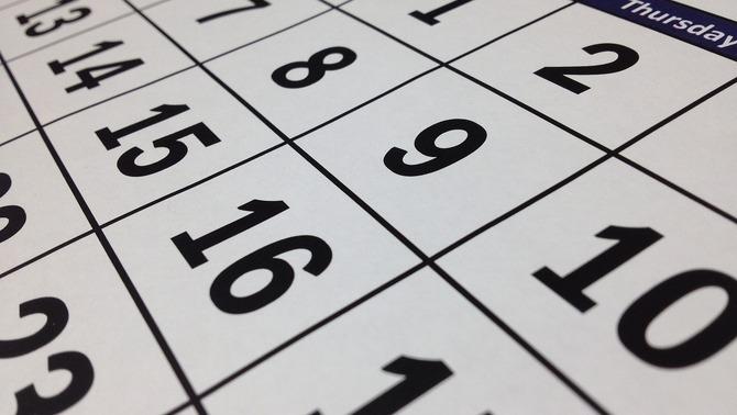 El calendari laboral de 2020: només un pont, però cinc caps de setmana llargs