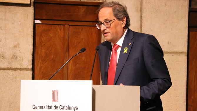 Torra manté el no a Sánchez sense un referèndum i ERC refusa bloquejar la investidura