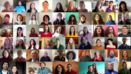 In This Together Choir, un projecte de cor virtual global per cantar junts en confinament