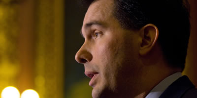 El governador de Wisconsin, Scott Walker