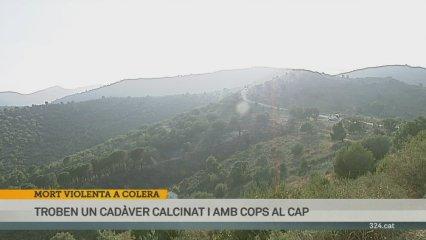 Un home trobat mort a Colera