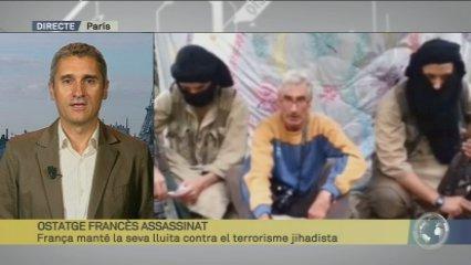 Reacció de França davant l'assassinat d'un turista francès pels jihadistes