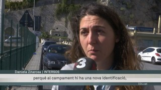 Immigrants que viuen a Ventimiglia