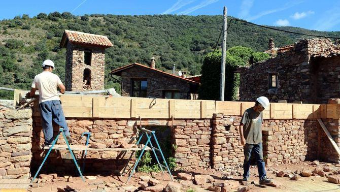 Sis veïns recuperen el poble d'Envall, al Pallars Jussà, abandonat a finals dels 70