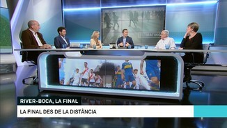 River-Boca, la final a través de dos actors argentins
