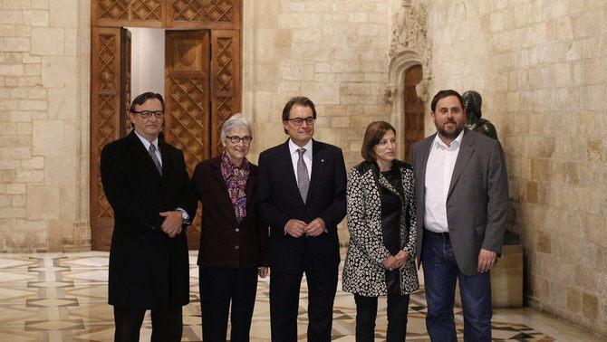 """Mas anuncia eleccions el 27 de setembre amb """"llistes diverses i full de ruta compartit"""""""