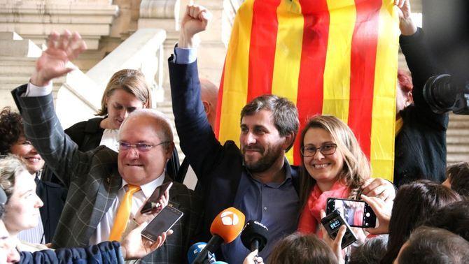 La fiscalia belga rebutja l'entrega a Espanya de Comín, Serret i Puig