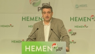 """""""La traductora"""": Avui, Aitor Esteban, portaveu del Partit Nacionalista Basc al Congrés"""