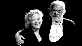 Marina Rossell i Georges Moustaki.
