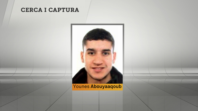 Younes Abouyaaqoub, en cerca i captura