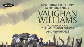 """VAUGHAN WILLIAMS: SYMPHONIES VOL. 2 - RLOP/ANDREW MANZE"" (Onyx)"