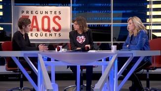 "L'exvicepresidenta Joana Ortega i l'advocada Isabel Elbal, al ""FAQS"""