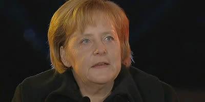 """Merkel: """"Hi ha amenaça de contagi a l'eurozona"""""""