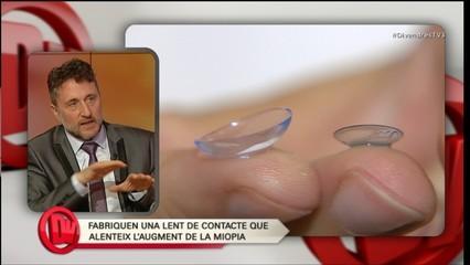 Parlem de la nova lent de contacte que alenteix l'augment de la miopia