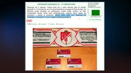 Revenda d'abonaments per al Granada-Barça
