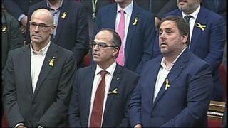 Fiscalia ultima els detalls de la querella de rebel·lió en contra de Puigdemont i el govern