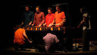 Drumming Marimba Quartet