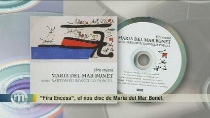 """""""Fira encesa"""", el nou disc de Maria del Mar Bonet"""